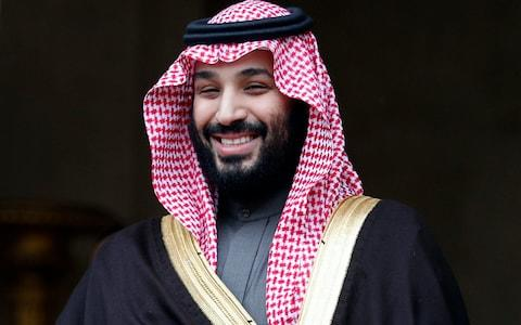 Mohammed bin Salman's reputation as a reformer has come under scrutiny amid questions over Khashoggi's death - Credit: Francois Mori/AP