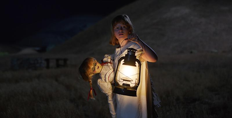 'Annabelle' scares up $35M, jolting sleepy box office
