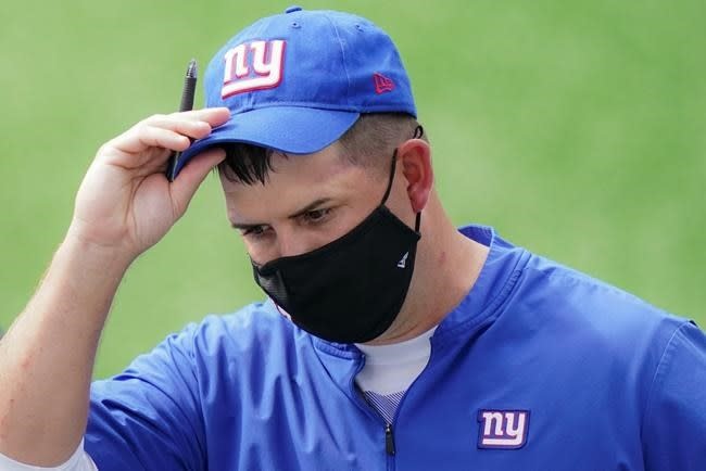 Giants have a practice do-over with coach Joe Judge unhappy