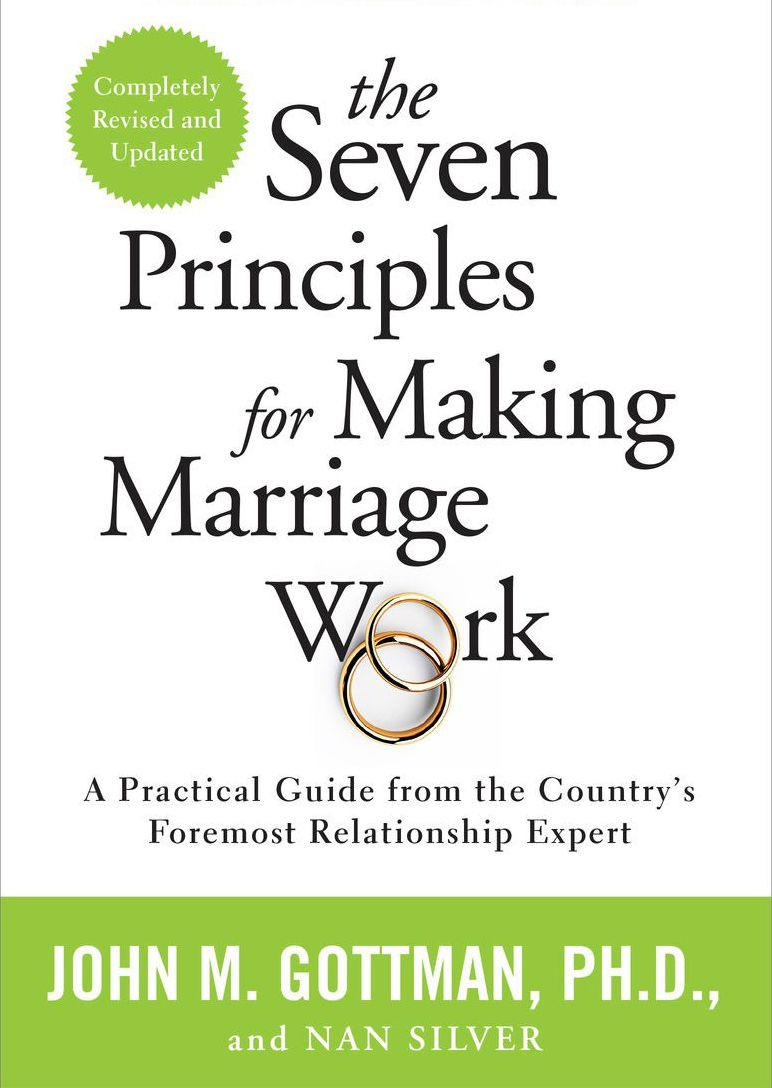 """This is my go-to book to recommend to couples and probably always will be. The Gottmans have taken years of research and evidence of exactly what makes relationships succeed and compiled it into easy-to follow steps. It&rsquo;s the perfect handbook for how to help your relationship not only get better, but thrive."" -- <i><a href=""https://www.philadelphiamft.com/danielle-massi-lmft.html"" target=""_blank"" rel=""noopener noreferrer"">Danielle Massi</a></i><i>, a marriage and family therapist in Philadelphia&nbsp;<br /><br /><br /><strong>Get&nbsp;<a href=""https://www.amazon.com/Seven-Principles-Making-Marriage-Work/dp/0553447718/ref=sr_1_1?crid=1QU4I0KKJ856Y&amp;keywords=7+principles+for+making+marriage+work+gottman&amp;qid=1566586008&amp;s=books&amp;sprefix=7+princ%2Cstripbooks%2C234&amp;sr=1-1&amp;tag=thehuffingtop-20"" target=""_blank"" rel=""noopener noreferrer"">""The Seven Principles for Making Marriage Work"" by John M. Gottman and Nan Silver</a></strong><br /></i>"