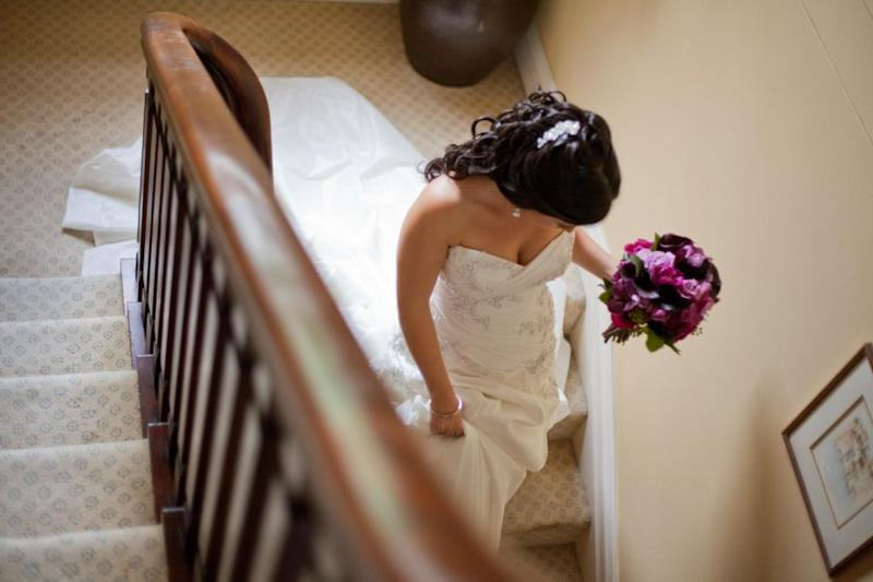 A UK church is offering brides $175 for showing up on time. Photo: Getty