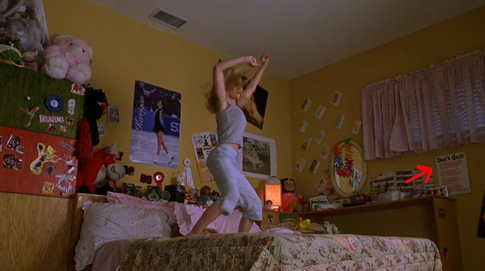 Warm coloured walls as seen in 'Bring It On', will be sure to evoke nostalgic emotions (Universal Pictures)
