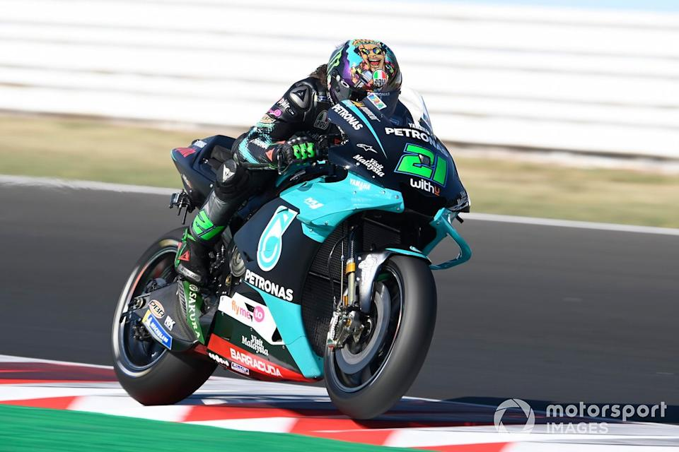 "GP de San Marino: Franco Morbidelli, Petronas Yamaha SRT<span class=""copyright"">Gold and Goose / Motorsport Images</span>"