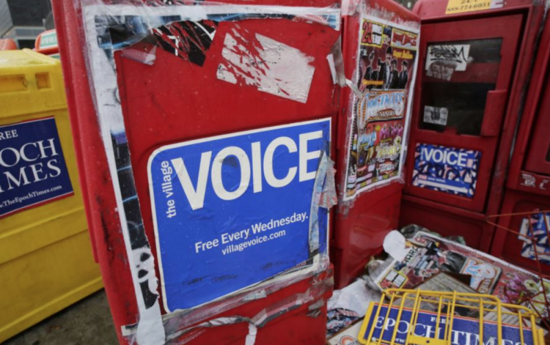 R.I.P. The Village Voice, iconic alt-weekly shutting down after more than 60 years