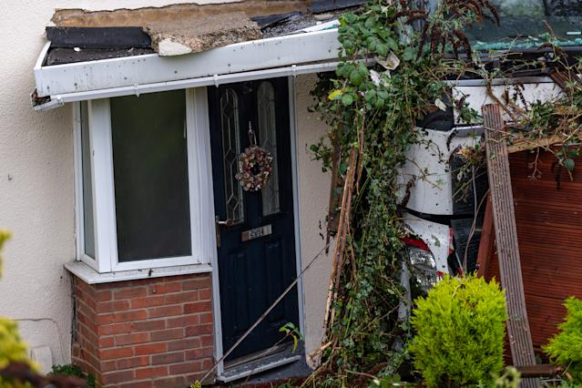 """Harlow Council said the house had been """"deemed dangerous"""". (SWNS)"""
