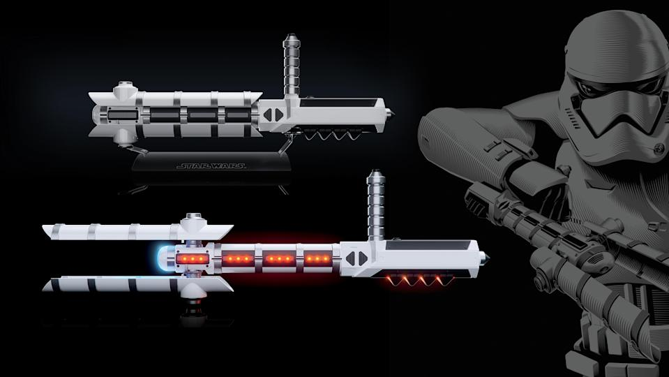 <p>If, as we suspect, Han has to spring Chewie from prison during <em>Solo</em>, chances are they'll be facing off against Stormtroopers armed with these riot-quelling batons. (Photo: Hasbro) </p>