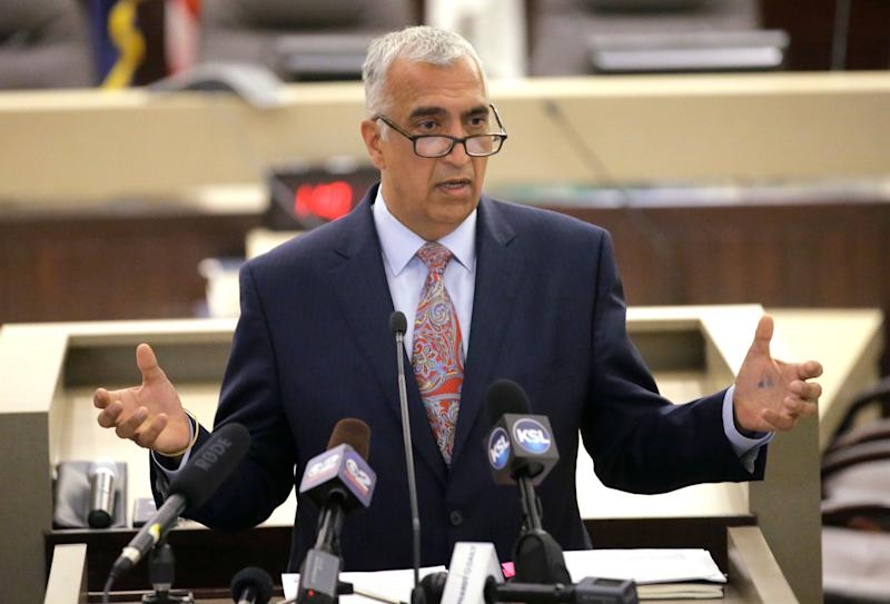Salt Lake County District Attorney Sim Gill has been calling on the Utah State Legislature to pass stricter hate crime legislation for nearly two decades. (Photo: THE ASSOCIATED PRESS)