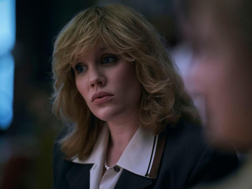 <p>Fennell will go by Parker Bowles in the forthcoming season following her character's marriage to Andrew in 1973</p>Des Willie/Netflix