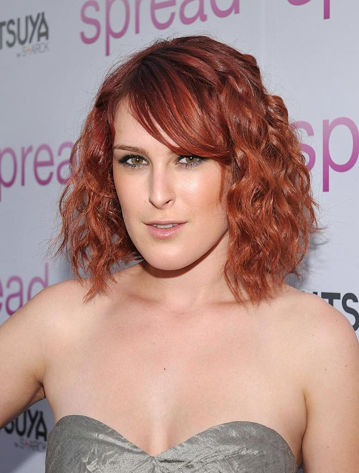 "The makeup ain't half bad and the color of the dress is kinda cool, but Rumer Willis' hair color is downright ridiculous. John Shearer/<a href=""http://www.wireimage.com"" target=""new"">WireImage.com</a> - August 3, 2009"