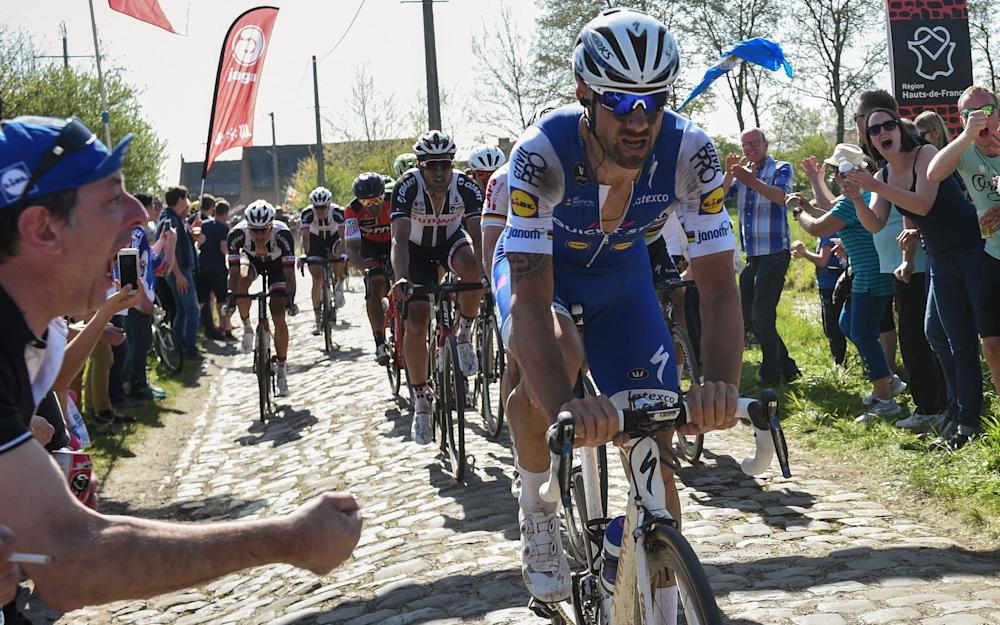 Tom Boonen - Greg van Avermaet picks up baton from Tom Boonen as Belgian's spring campaign reaches Paris-Roubaix zenith - Credit: Getty Images