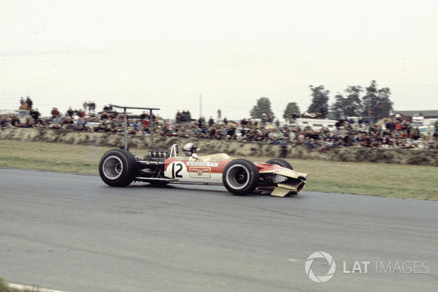 "Mario Andretti, Lotus 49B Ford <span class=""copyright"">LAT Images</span>"
