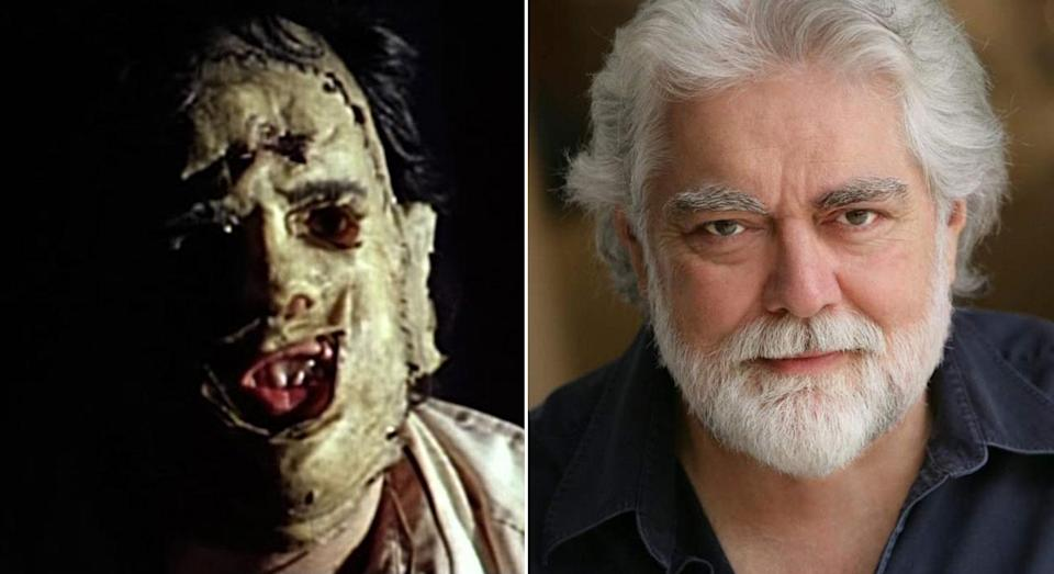 Leatherface as played by Gunnar Hansen.
