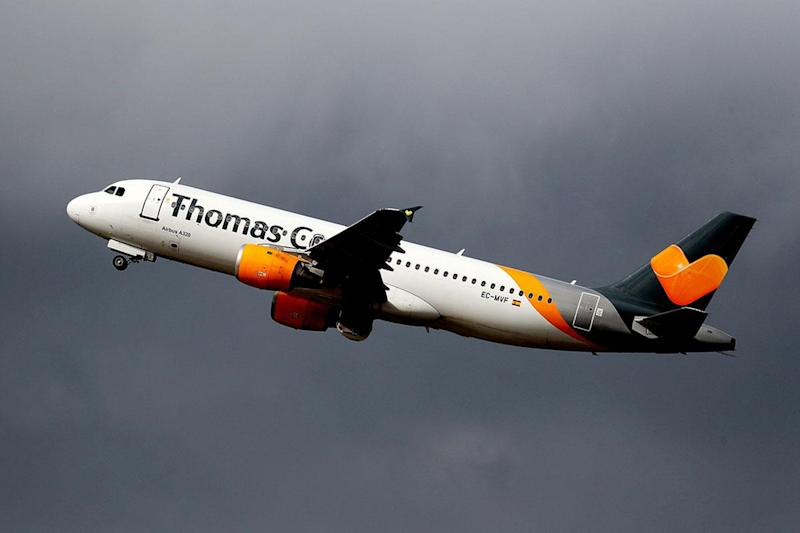 All Thomas Cook planes now remain firmly wheels down: EPA