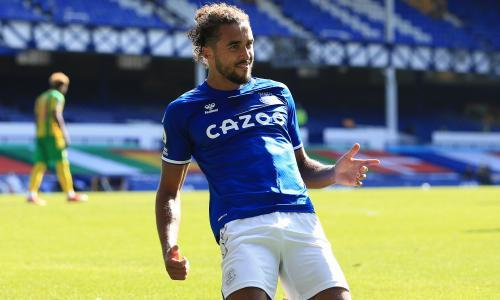 Dominic Calvert-Lewin hits hat-trick as Everton fire five past West Brom