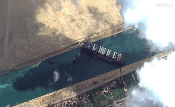Have been given the Suez Canal