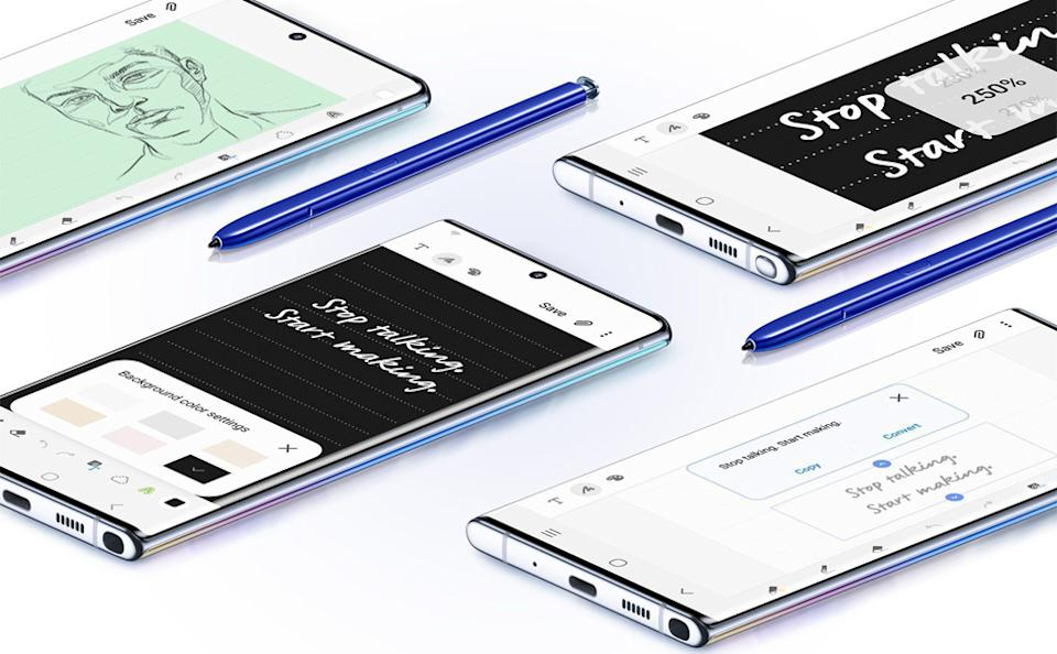 Samsung Galaxy Note 10 is on sale for $600 on Amazon. Image via Amazon.