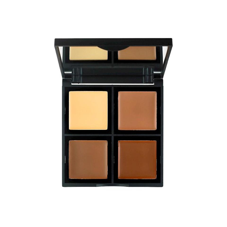 """<p><strong>E.L.F. Cream Contour Palette</strong></p> <p>This palette has three contouring shades as well as one for highlighting. When it comes to pigmentation and shade selection, that's a lot of bang for your $6 bucks.</p> <p>$6 (<a href=""""http://www.target.com/p/e-l-f-cream-contour-palette-bronzer-multi-color-83342-43-oz/-/A-51139500?mbid=synd_yahoobeauty"""" rel=""""nofollow noopener"""" target=""""_blank"""" data-ylk=""""slk:target.com"""" class=""""link rapid-noclick-resp"""">target.com</a>).</p>"""