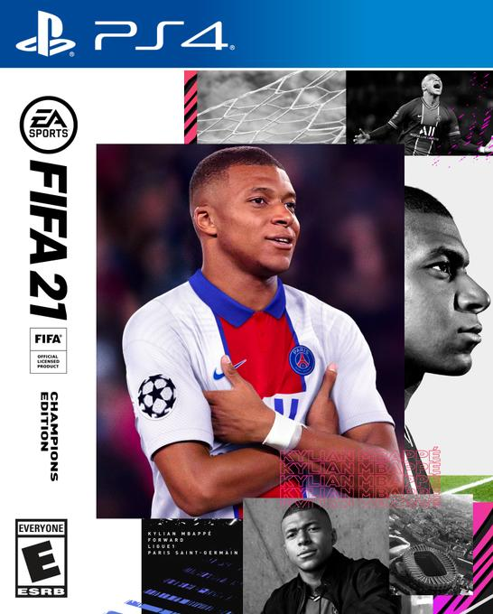 EMBED ONLY FIFA 21 Champions cover Kylian Mbappe