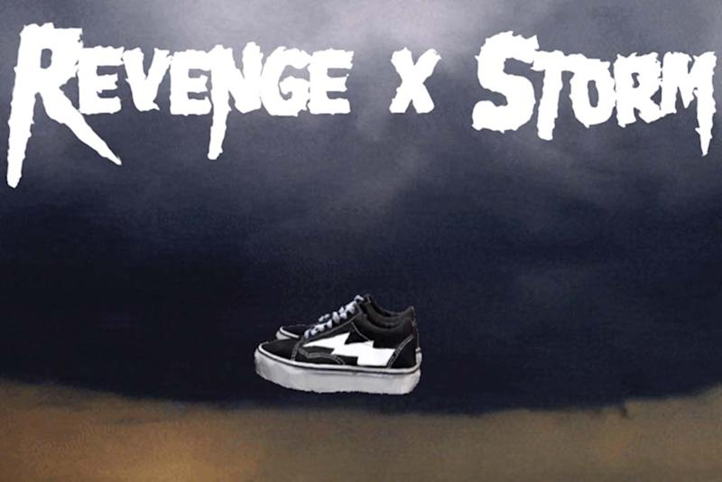 e344fcf377cf69 Former Yeezy Stylist Ian Connor s Revenge x Storm Sneakers Sold Out on  Retro Geocities-Like Site