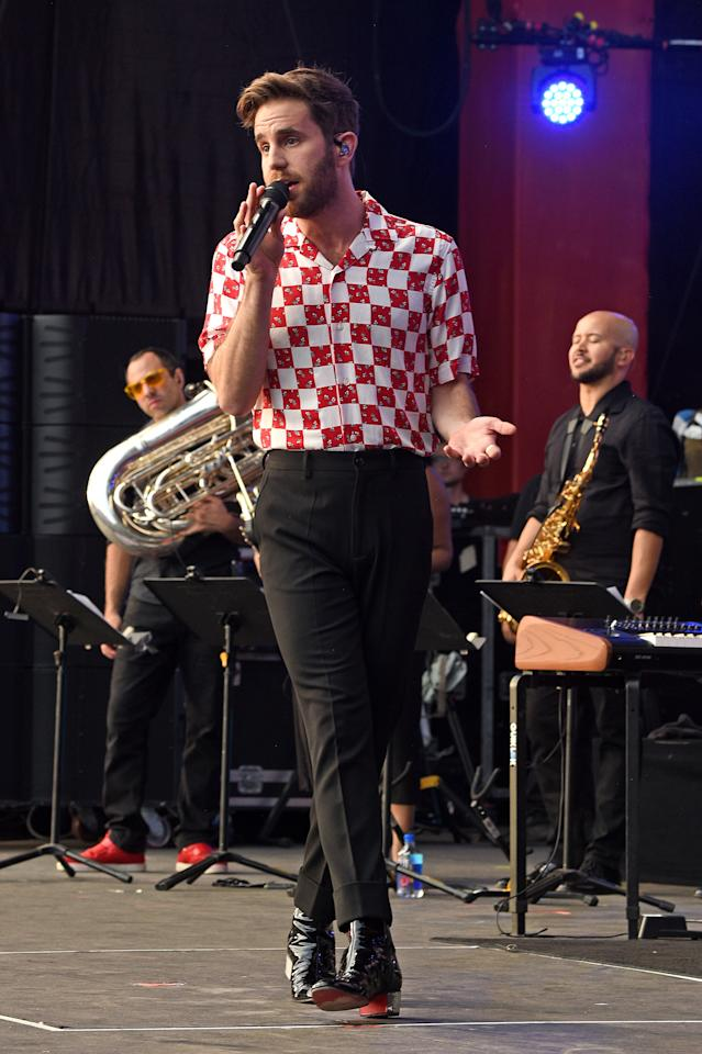 <p>WHERE: The 2019 Global Citizen Festival in New York</p> <p>WHEN: September 28, 2019</p> <p>WHY: A silk shirt, black trousers, and boots remains an unimpeachable trio.</p>