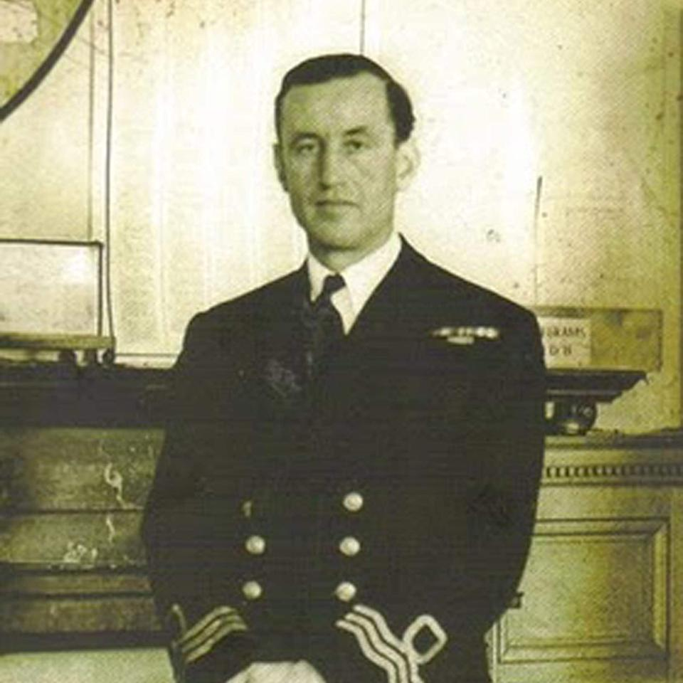 Ian Fleming during his career as a British Naval Intelligence Officer