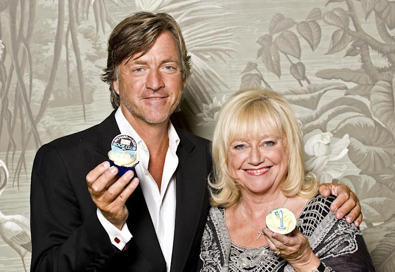 Richard Madeley and Judy Finnigan celebrate the 1st birthday of their book club, at the Haymarket Hotel in London.