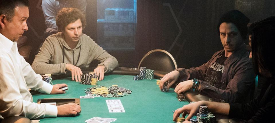 Michael Cera played Player X in Molly's Game, a character heavily inspired by Tobey Maguire's alleged behaviour during Molly Bloom's illegal poker games