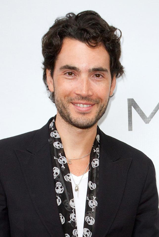 "Khotan Ferro attends the ""<a target=""_blank"" href=""http://tv.yahoo.com/magic-city/show/46996"">Magic City</a>"" premiere at Colony Theater on March 4, 2012 in Miami Beach, Florida."