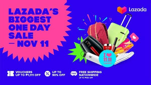 11.11 Deals to Watch Out For - Lazada 1.11 deals