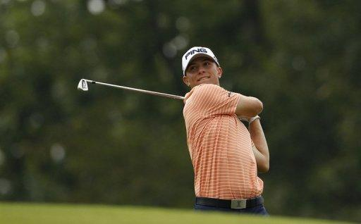 Luke Guthrie (pictured on July 13) opened with a seven-under 65 in the first round of the True South Classic at Annandale Golf Club, on July 19, in Madison, Mississippi. This is Guthrie's, aged 22, third professional tournament and currently stands in second place, after Jason Bohn