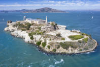 Once home to America's most dangerous criminals, this former maximum-security located on Alcatraz island in San Francisco Bay is worth a visit. [Photo: Getty]