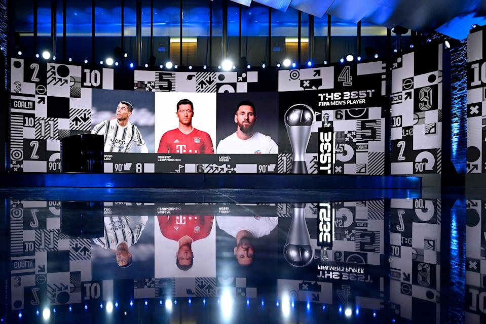 <p>The Best FIFA Football Awards</p> (Getty Images)