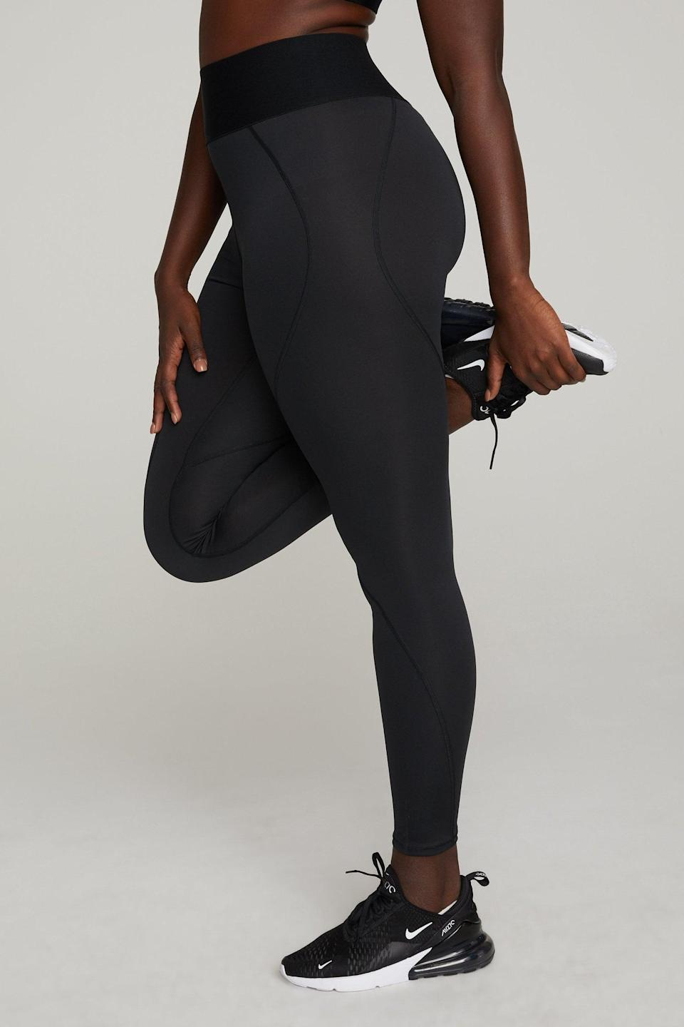 <p>These <span>Good American Active Essential Icon Leggings</span> ($85) are the updated version of the brand's bestselling legging. They've got all the shape and contouring you love, with a more sweat-wicking feel. Sign us up.</p>