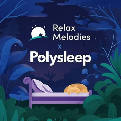 The companies' alliance highlights the country's solid status on the international stage of wellness innovation. Relax Melodies and Polysleep are two key examples of the small & medium businesses that power 30% of the nation's GDP. (CNW Group/Polysleep)