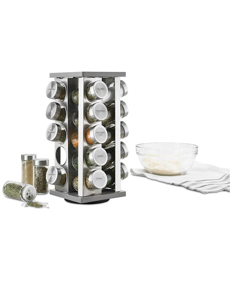"<p>Clean up your cabinets with this <a href=""https://www.popsugar.com/buy/Martha-Stewart-Collection-21-Pc-Spice-Rack-492161?p_name=Martha%20Stewart%20Collection%2021-Pc.%20Spice%20Rack&retailer=macys.com&pid=492161&price=100&evar1=savvy%3Aus&evar9=46637119&evar98=https%3A%2F%2Fwww.popsugar.com%2Fsmart-living%2Fphoto-gallery%2F46637119%2Fimage%2F46637361%2FMartha-Stewart-Collection-21-Pc-Spice-Rack&list1=shopping%2Cgift%20guide%2Cmacys&prop13=api&pdata=1"" rel=""nofollow"" data-shoppable-link=""1"" target=""_blank"" class=""ga-track"" data-ga-category=""Related"" data-ga-label=""https://www.macys.com/shop/product/martha-stewart-collection-21-pc.-spice-rack-created-for-macys?ID=5343514&amp;CategoryID=31839#fn=sp%3D1%26spc%3D1601%26ruleId%3D78%26kws%3Dtech%20gadgets%26searchPass%3DexactMultiMatch%26slotId%3D8"" data-ga-action=""In-Line Links"">Martha Stewart Collection 21-Pc. Spice Rack</a> ($100).</p>"