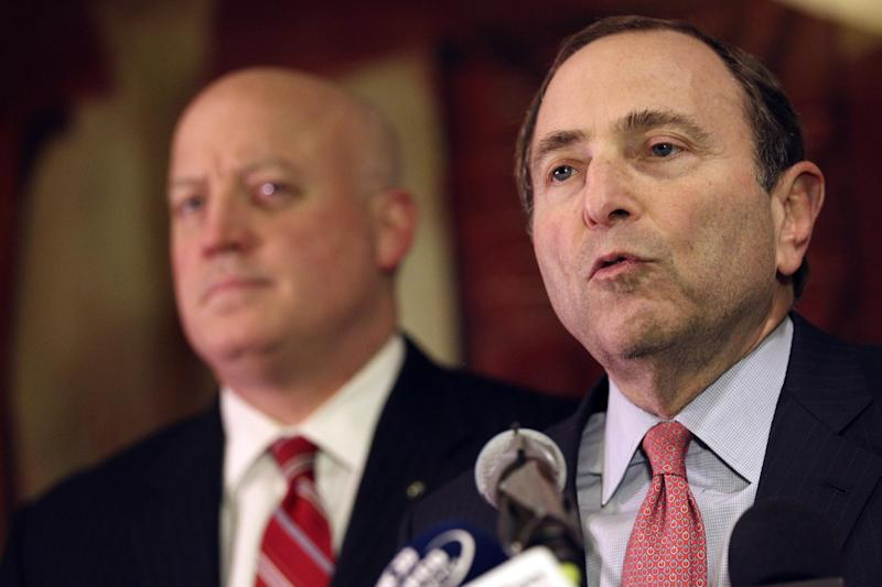 NHL says it is only discussing expanding league