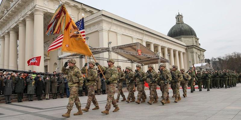 US Army soldiers Lithuania