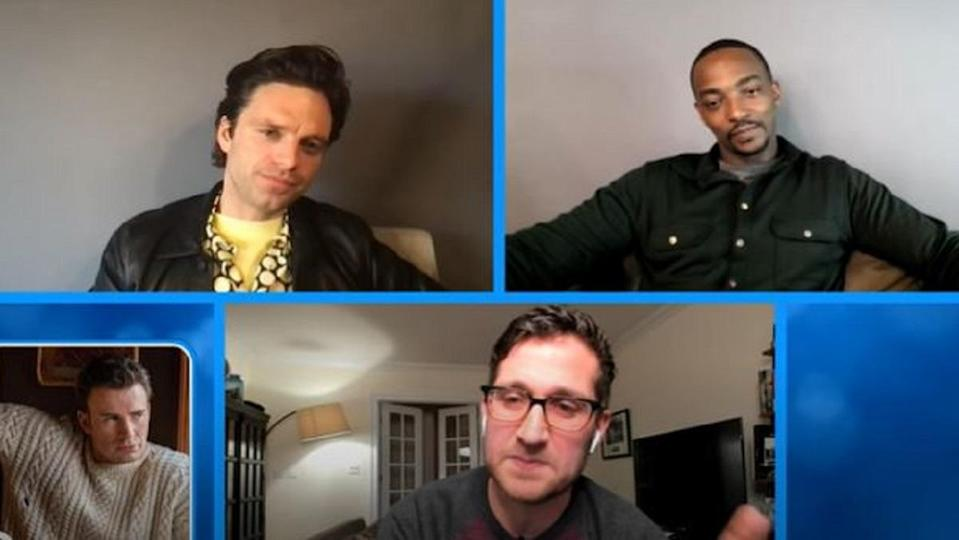 Anthony Mackie and Sebastian Stan answer tough questions on Comedy Central's Stir Crazy.