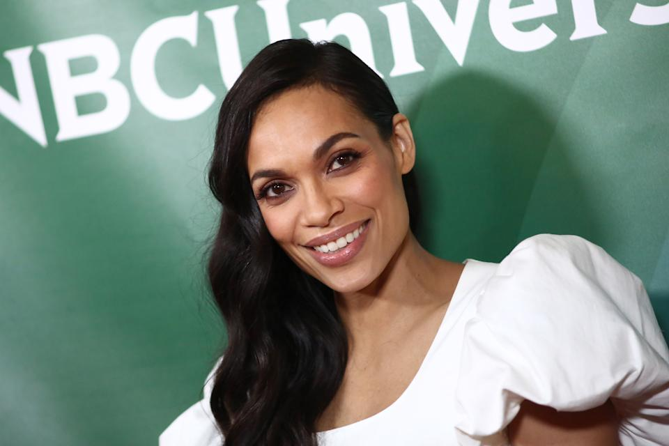 PASADENA, CALIFORNIA - JANUARY 11: Rosario Dawson attends the 2020 NBCUniversal Winter Press Tour at The Langham Huntington, Pasadena on January 11, 2020 in Pasadena, California. (Photo by Tommaso Boddi/WireImage)