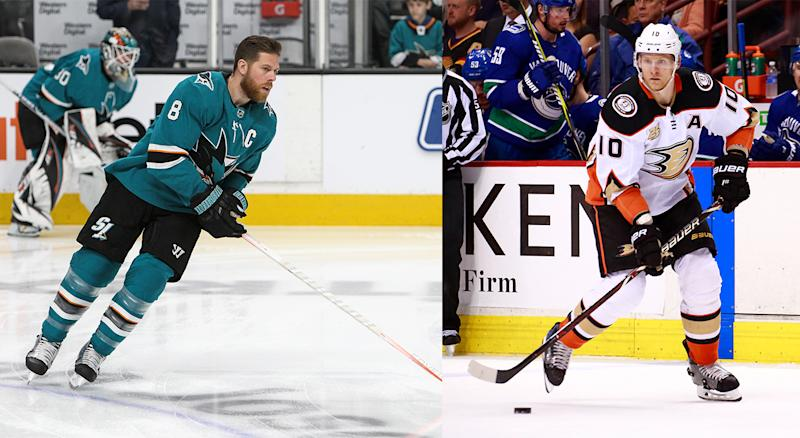 Joe Pavelski and Corey Perry will reportedly both be suiting up for the Dallas Stars next season. (Getty)
