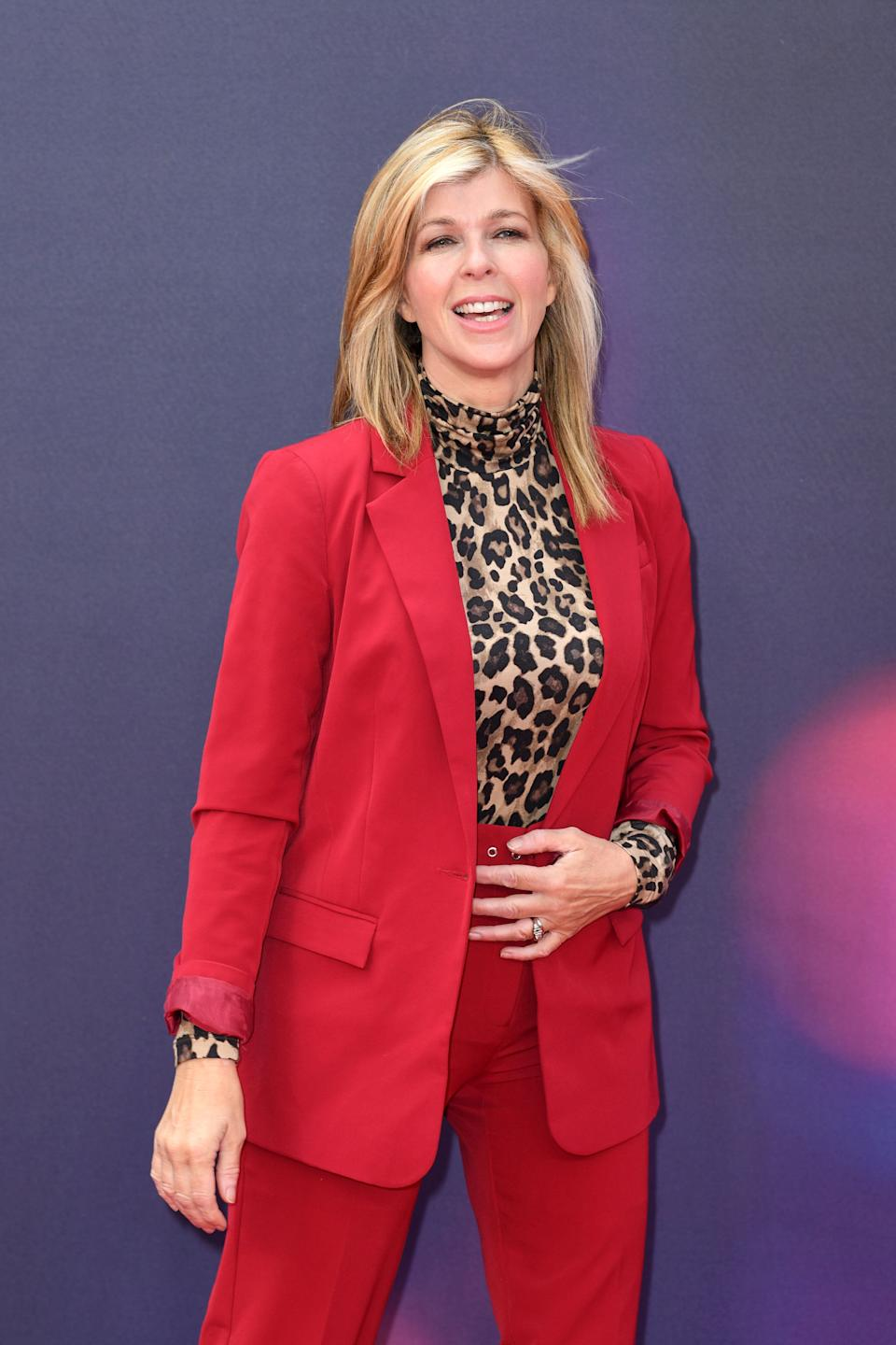 """<strong>Known for:</strong> Good Morning Britain presenter<br /><br />Kate has done nothing to downplay rumours she's set to enter the jungle, admitting she was """"sweating"""" when pressed by co-host Ben Shepherd on Good Morning Britain.""""Even if I was doing it, I couldn't say I was doing it,"""" she said."""