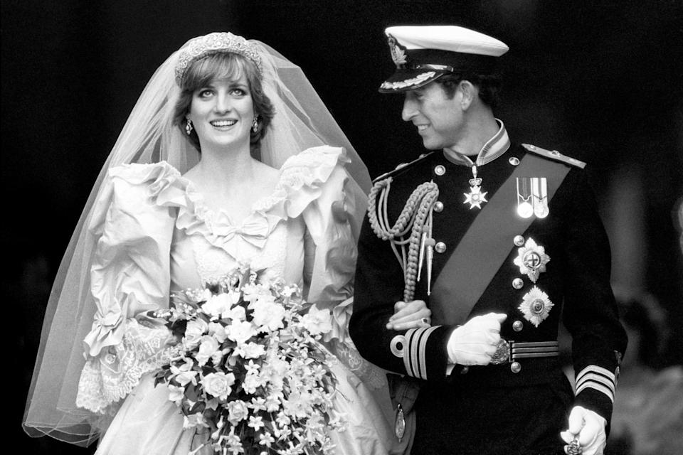 Princess Diana's wedding dress designers have opened up about the big day [Photo: PA]