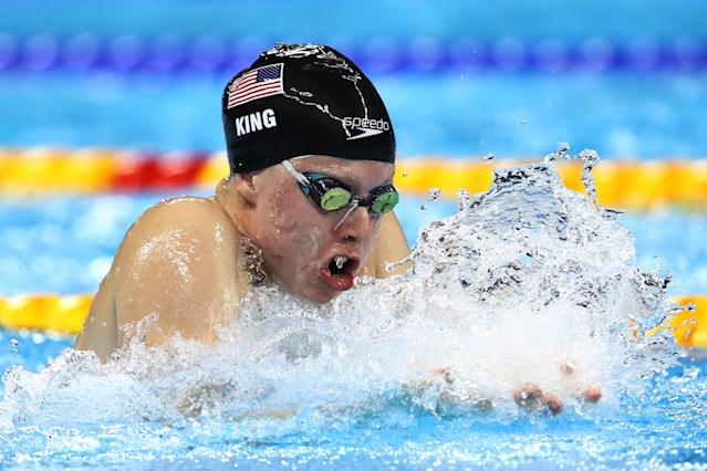 Lilly King's competitiveness was evident at a young age. (Getty Images)