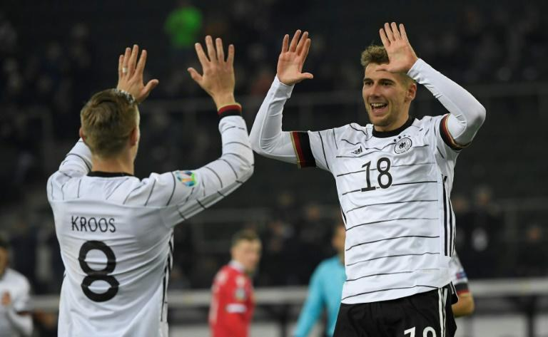 Two-goal Toni Kroos doesn't believe Germany are among the favourites for Euro 2020 (AFP Photo/INA FASSBENDER)