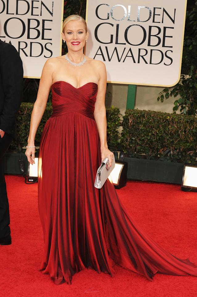 Penelope Ann Miller arrives at the 69th Annual Golden Globe Awards in Beverly Hills, California, on January 15.