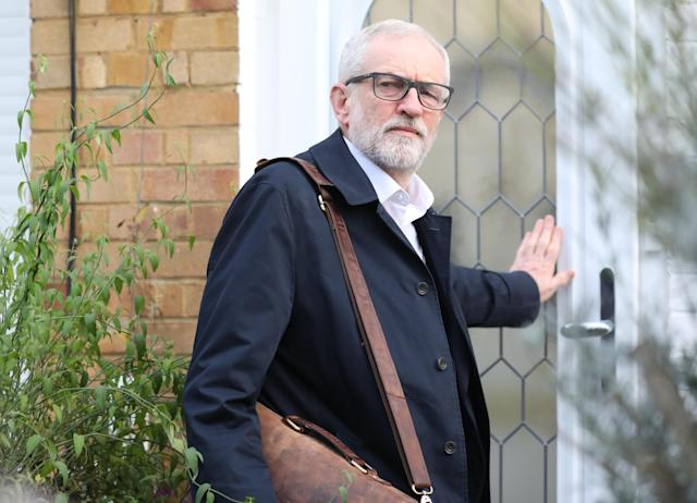 Mr Corbyn pledged to step down after his party's disastrous general election result. (PA Images)
