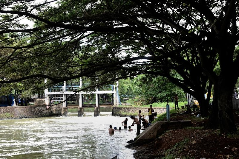 A scheme to dredge and widen the 14 waterways that criss-cross Jakarta started in 2014 has also removed much rubbish and pollution