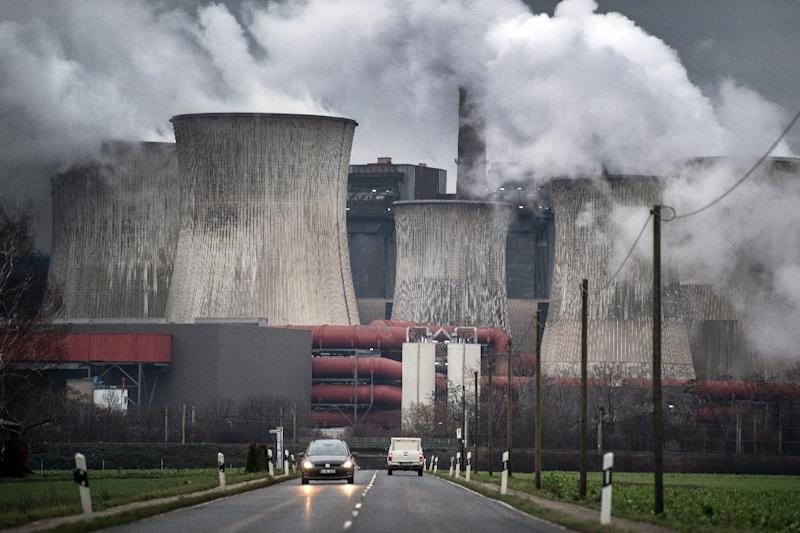 Governments across the world are coming under intensifying pressure from campaigners to set deadlines by which they will cut their net greenhouse emissions to zero (AFP Photo/Federico Gambarini)