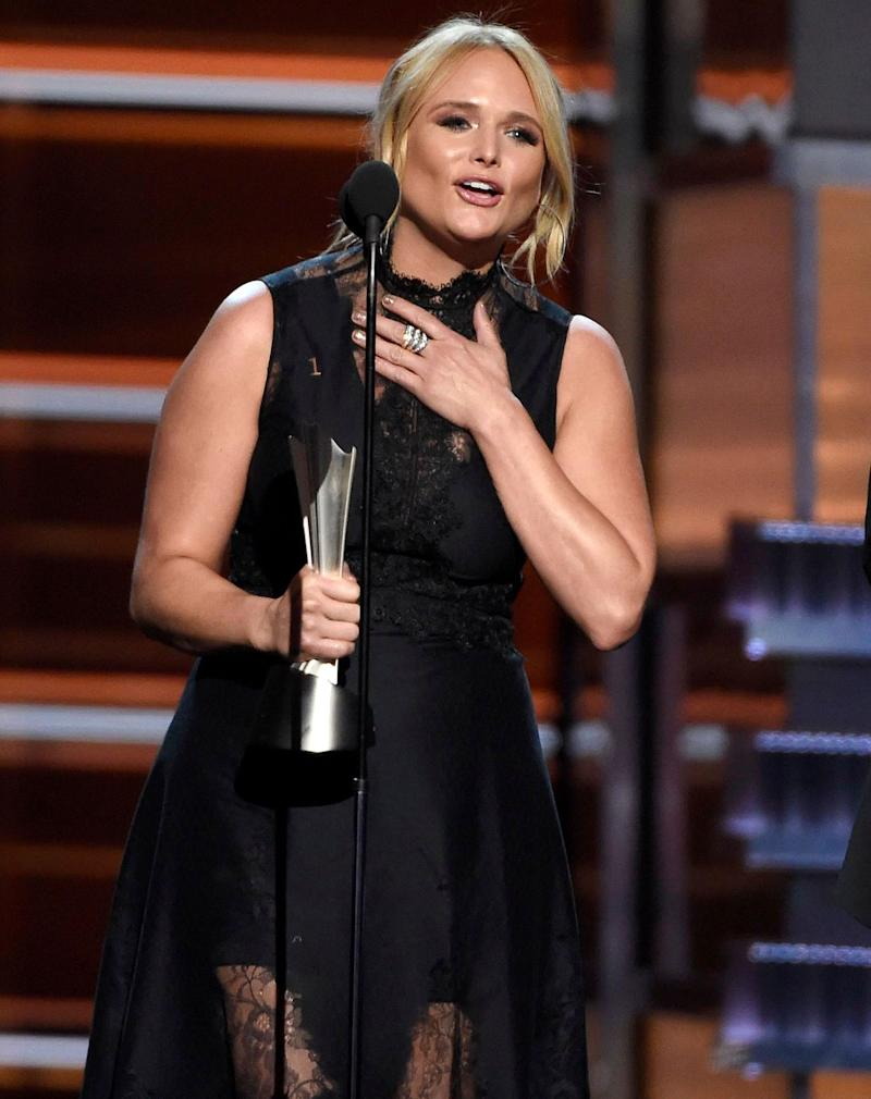 Miranda Lambert Thanks Fans for 'Sharing My Broken Heart with Me' as She Wins ACM Song of the Year