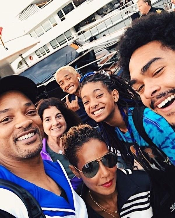 "To celebrate wrapping five months of shooting Gemini Man with Ang Lee, Will Smith and his ""life partner"" Jada Pinkett-Smith brought the kiddies on a family vaycay to the Amalfi Coast."